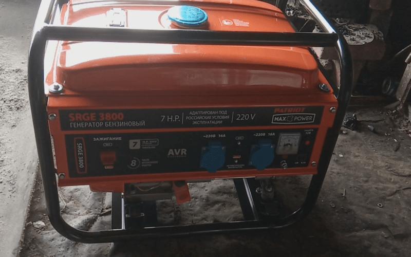5 полезных советов владельцам бензогенераторов. Как хранить бензогенератор? Бензиновый генератор PATRIOT Max Power SRGE 3800
