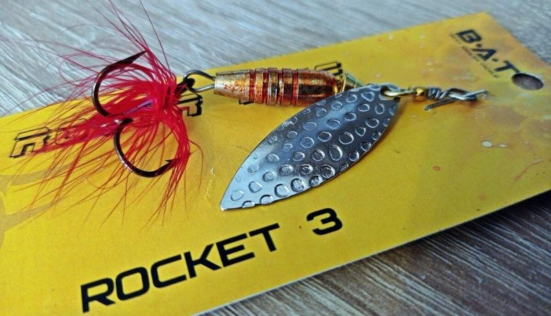 Блесна-вертушка Rocket на щуку и голавля