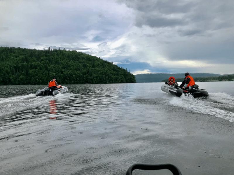 Как правильно глушить лодочный мотор, после завершения выезда?