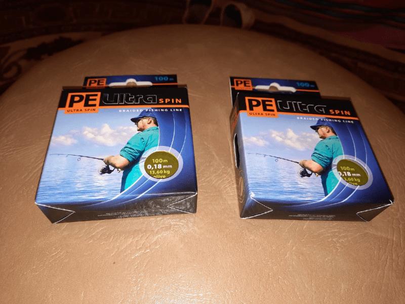 Лучшая плетёнка для спининга.Плетеный шнур AQUA PE Ultra Spin Dark Green 100m 0.18mm