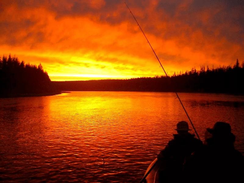 Погодные предсказания о рыбалке.