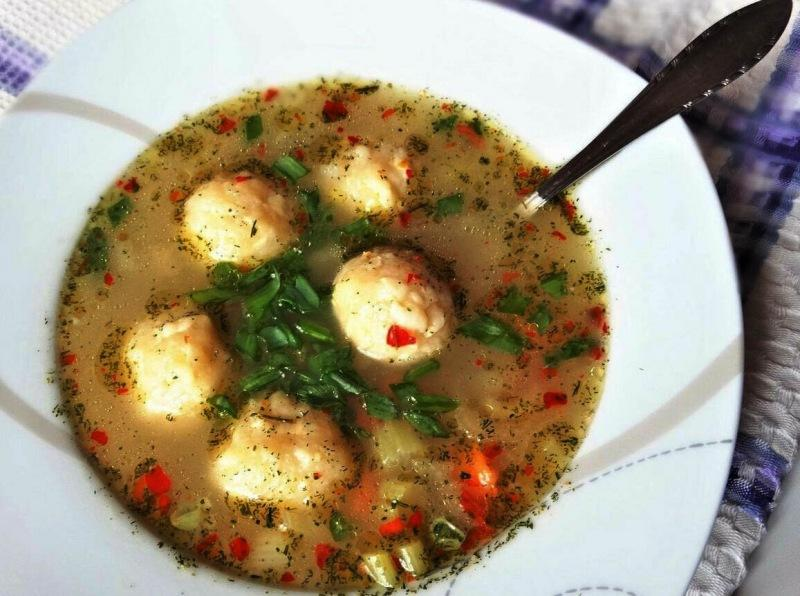 Суп с голушками