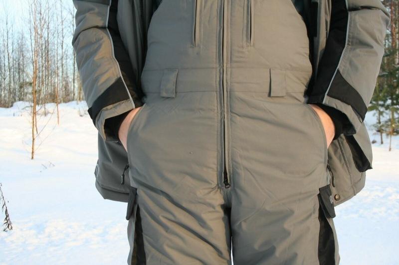 Выбор костюма для зимней рыбалки