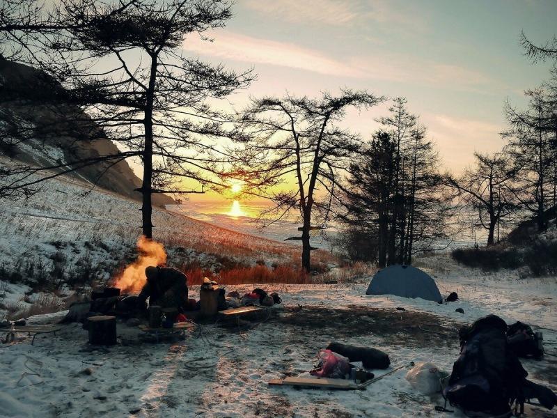 Как согреться в зимнем походе