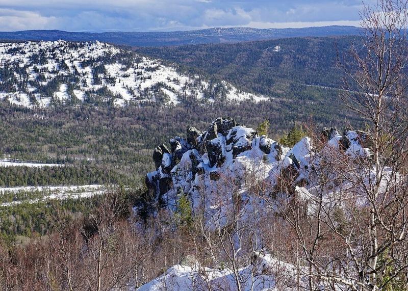 Зимний лыжный поход на Урал